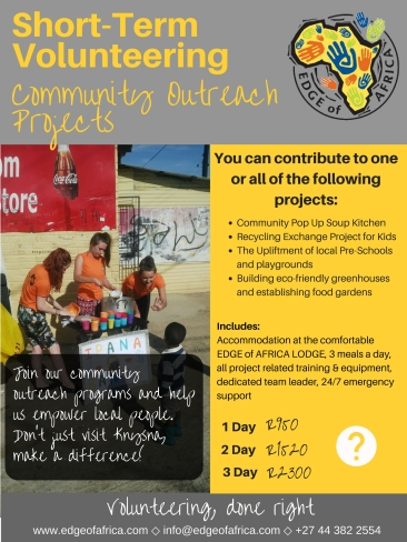 Short-term volunteering - Community
